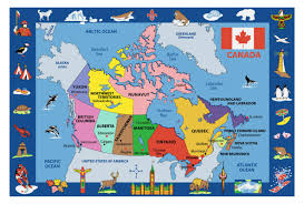 Kids World Map Map Of Calgary Canada Canada Map Calgary Canada Map Canada Map