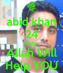 abid khan 24 Friday Allah Will Help YOU. by tania | 4 months, 1 week ago - abid-khan-24-friday-allah-will-help-you