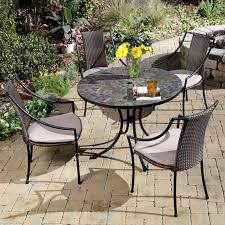 Lowes Patio Furniture Sets by Decorating Terrific Wrought Iron Patio Furniture Lowes For