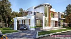 new modern villa plan kerala home design bloglovin u0027