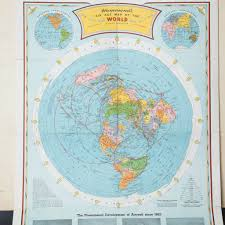 Peters Projection World Map by The Ultimate Flat Earth Map Collection Aplanetruth Info