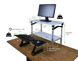 28 stand up desk conversion amazon com workez standing desk