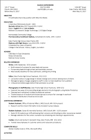 Profile Section Of Resume Examples by Resume Examples Umd