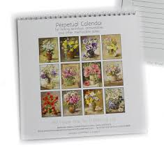Flowers For Each Month - perpetual calendar mill house fine art u2013 publishers of anne