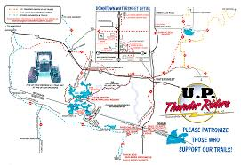 Thousand Islands Map Land O U0027 Lakes Snowmobile Trail Report