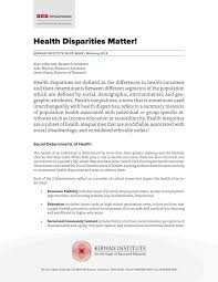 Sample Staff Accountant Resume by Health Disparities Matter