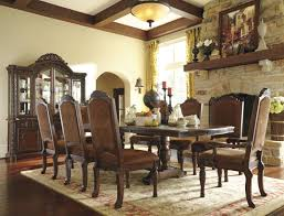 Ashley Furniture Dining Room Chairs North Shore Double Pedestal Extendable Dining Room Set From Ashley