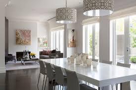 Drum Pendant Lighting In Dining Room Contemporary With High End - Contemporary pendant lighting for dining room