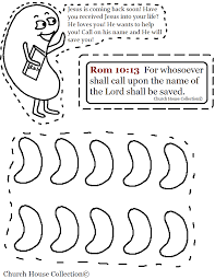 jelly bean carrying bible coloring page romans 10 13 for whosoever