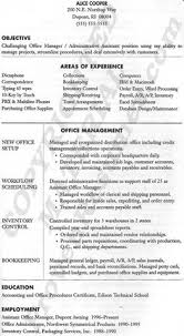 Sample Resume Of Office Administrator office manager resume example resume examples and resume objective