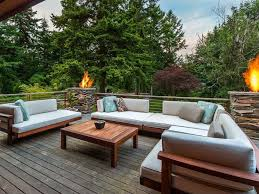 Outdoor Seating contemporary deck with fire pit u0026 outdoor seating zillow digs