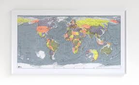 Peters Projection World Map by The Future Mapping Company Projecting The World Part 2