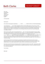 Example Of A Cover Letter For Bar Work Cover Letter Sample     The Balance