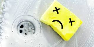 How To Get Rid Of Kitchen Sink Odor Your Kitchen Sponge Is As Revolting As It Smells Huffpost