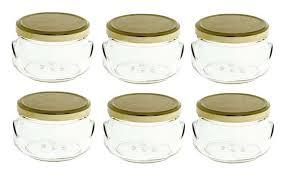 amazon com nakpunar 6 pcs 6 75 oz tureen glass jars for candles