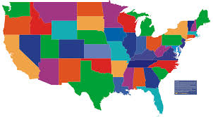 Large Map Of Usa by United States Map Showing State Lines Maps Of Usa