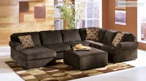 Chocolate Living Room Furniture vista chocolate living room collection from signature design by