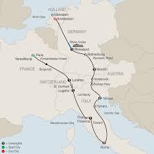 Map Of France And Switzerland by Holland U0026 Belgium Tours Globus Escorted Europe Tours