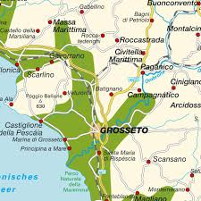 Tuscany Map Map Maremma Maps And Directions At Map