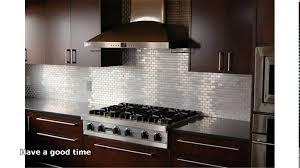 Tile Sheets For Kitchen Backsplash Kitchen Stainless Steel Kitchen Backsplash Panels Stove Mod