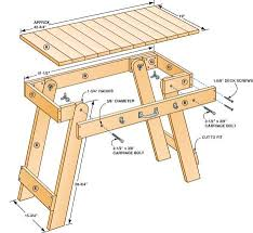 Wooden Folding Picnic Table Plans by Grill Table Plans Free Woodworking Plan To Build Your Own