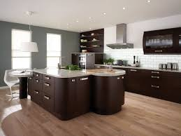 modern asian kitchen with wooden kitchen dining and mini bar