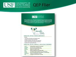 QEP  Quality Enhancement Plan    SACS Pfeiffer University