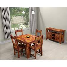 Dining Room Sets For 4 9 Pc Solid Wood Rustic Contemporary Dinette Dining Room Solid