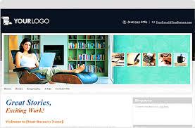Showcase of Beautiful Book Authors Websites   Hongkiat