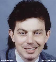 El joven Tony Blair