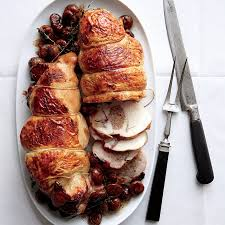 Stuffed Thanksgiving Turkey Boudin Blanc Stuffed Turkey With Chestnuts Recipe