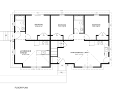 Huntington Floor Plan The August Duplex Huntington Homes