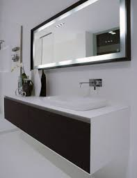 Modern Bathroom Big Mirror Modern stylish mirror with black