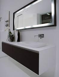 Modern Bathroom Big Mirror Modern stylish mirror with black