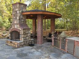 Backyard Grill Fdl by How To Build An Outdoor Brick Fireplace Fireplace Design Ideas