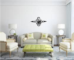 modern design luxury mirror wall art clock decal 3d best wall