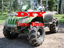 diy atv tune up and oil change youtube