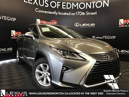 lexus atomic silver used 2017 lexus rx 350 4 door sport utility in edmonton ab l13505