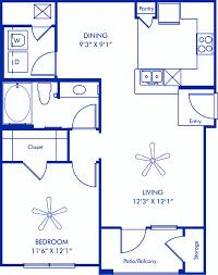Find A Floor Plan 1 2 U0026 3 Bedroom Apartments In Houston Tx Camden Yorktown