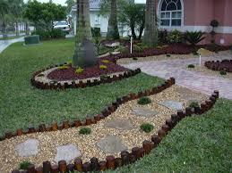 garden decorating ideas with stones landscape designs south