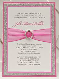 Birthday Invitation Cards Models Enchanting Quinceaneras Invitations Cards 88 For Your Hello Kitty