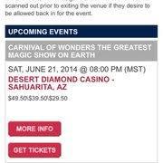 Desert Diamond Casino Buffet by Desert Diamond Casino 35 Reviews Hotels 1100 W Pima Mine Rd
