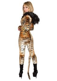 tiger halloween costumes hooded tiger catsuit