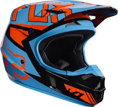 youth bell motocross helmets fox racing youth black orange blue v1 falcon dirt bike helmet 2017
