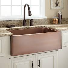 sinks beautiful floral copper farmhouse sink single antique