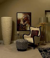 animal print living room