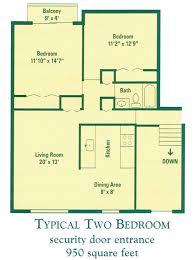 Two Bedroom Apartment Floor Plans Classy Design Two Bedroom Flat 14 Ideas Lakecountrykeys Com