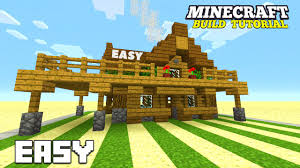 How To Build A Cottage House by Minecraft How To Build A Small Survival House Tutorial Survival