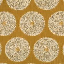 Furniture Upholstery Fabric by Gold Geometric Upholstery Fabric Heavyweight Cotton For