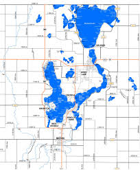 Map Of Iowa State by Lake Maps Sizes U0026 Depths U2013 Iowa Great Lakes Association